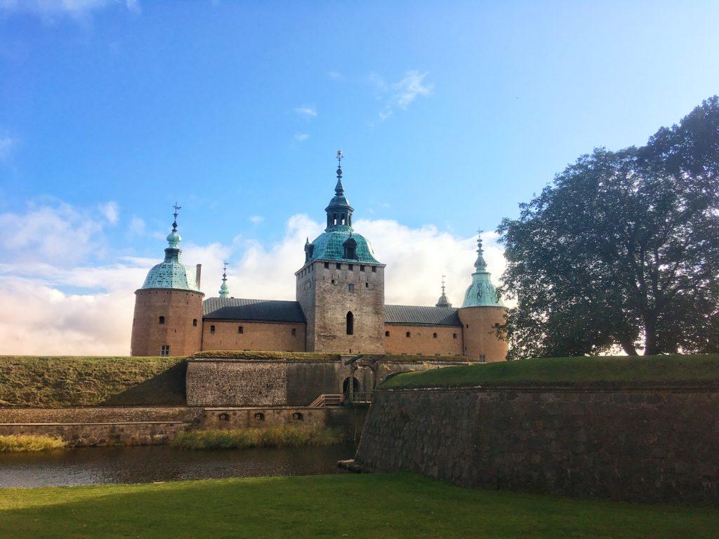 Kalmar slot i det svenske efterår