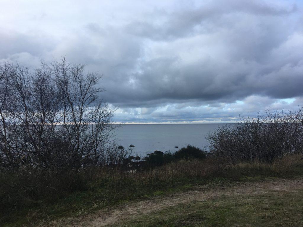 gråvejr på Bornholm